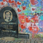 Lennon Peace Wall Imagine